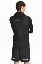 Ultra-light running jacket - Black - Men | H&M GB 1