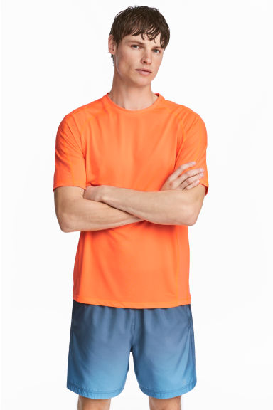 Ultra-light running top - Orange - Men | H&M CN 1