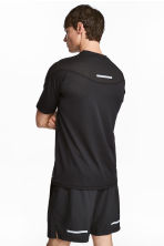 Ultra-light running top - Black - Men | H&M 1
