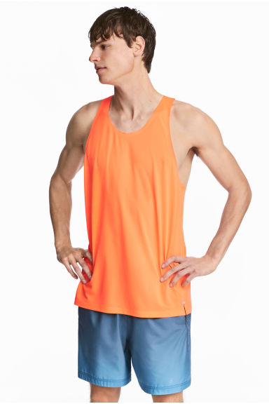 Ultra-light running vest - Orange - Men | H&M CN 1