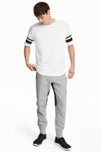 Jersey sports joggers - Grey marl - Men | H&M 1