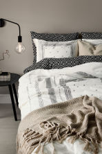 Set copripiumino in cotone - Bianco/fantasia - HOME | H&M IT 1
