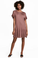 Fine-knit dress - Vintage pink - Ladies | H&M 1