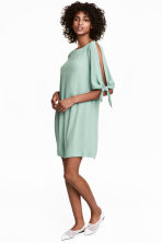Short dress - Mint green - Ladies | H&M CA 1