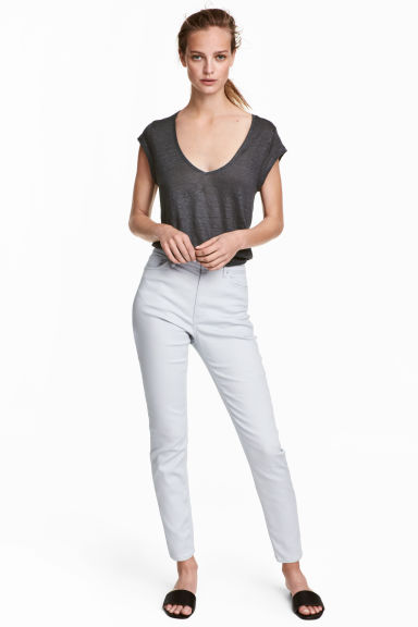 Ankle-length trousers - Light grey - Ladies | H&M 1