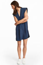 Lyocell denim dress - Dark denim blue - Ladies | H&M CN 1