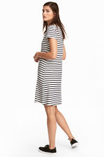 Jersey dress - White/Striped -  | H&M 1
