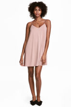 Slip dress - Powder pink - Ladies | H&M CN 1