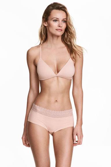 3-pack shortie briefs - Powder pink - Ladies | H&M 1