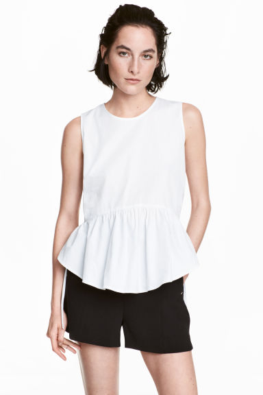 City shorts - Black - Ladies | H&M 1