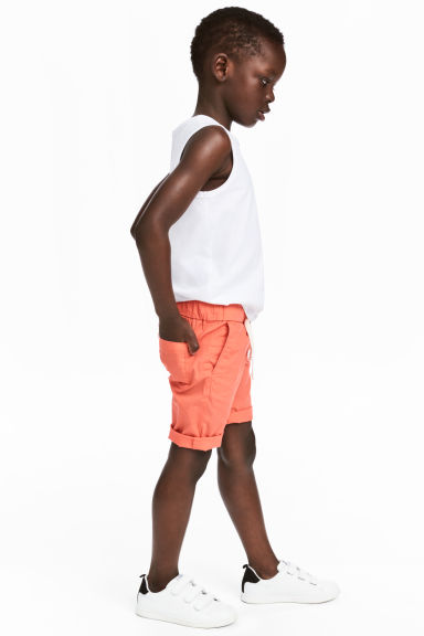 Cotton shorts - Coral -  | H&M 1