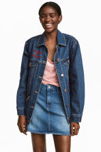 Gonna corta - Blu denim - DONNA | H&M IT 1