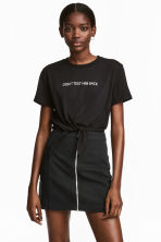 Short skirt - Black - Ladies | H&M 1