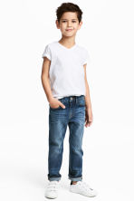 Slim Fit Jeans - Denimblå - Kids | H&M FI 1