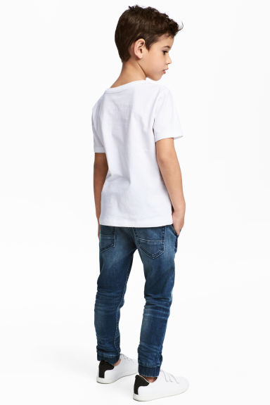 Denim joggers - Denim blue - Kids | H&M 1