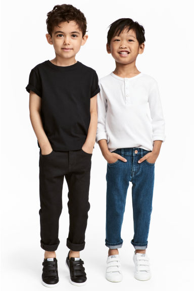 Slim Fit Jeans, 2 pz - Blu denim/nero - BAMBINO | H&M IT 1
