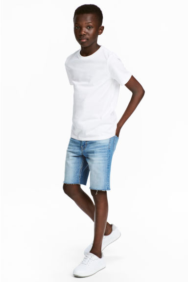 Denim shorts - Light denim blue - Kids | H&M 1