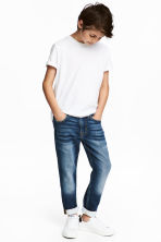 Super Soft Skinny Fit Jeans - Dark denim blue - Kids | H&M 1