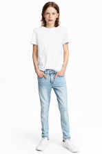 Superstretch Skinny fit Jeans - Azul denim claro -  | H&M PT 1