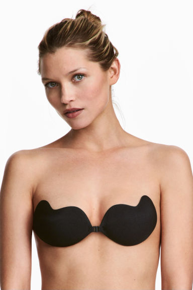 Self-adhesive bra - Black - Ladies | H&M 1