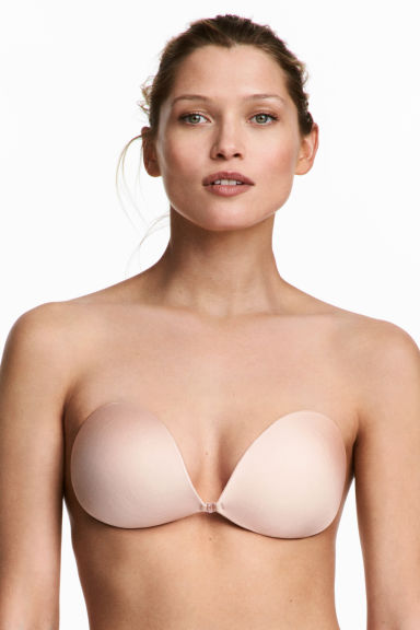 Self-adhesive bra Model