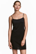 Microfibre underdress - Black - Ladies | H&M 1