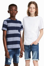 2件入T恤 - Dark blue/Striped - Kids | H&M 1