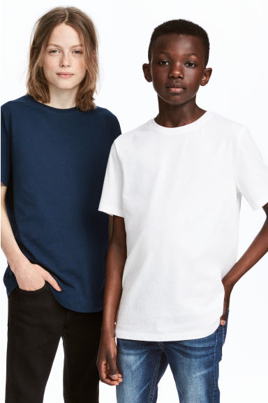 2-pack T-shirts - Dark blue -  | H&M