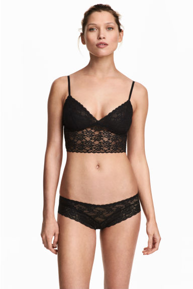 Set van 3 slips - Hipster - Wit - DAMES | H&M NL 1