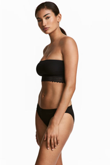 3-pack cotton bikini briefs - Black - Ladies | H&M CN