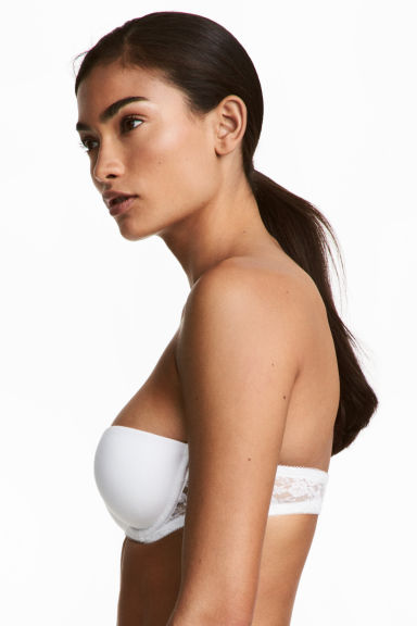 2-pack strapless bras - White/Black - Ladies | H&M 1