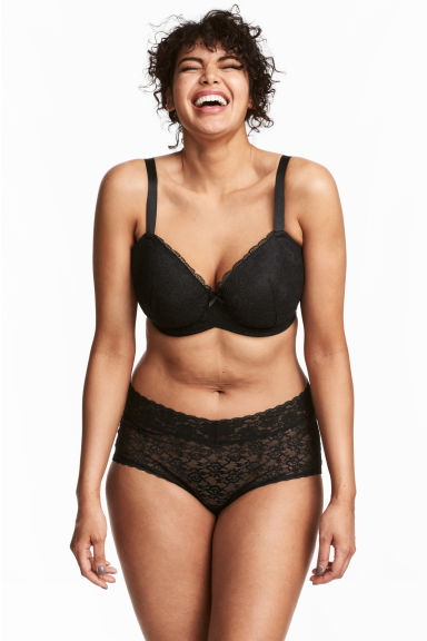 H&M+ 2-pack hipster briefs - Black - Ladies | H&M 1