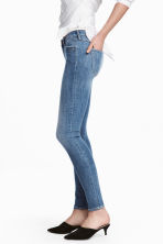 Super Skinny Low Jeans - Denim blue/Washed - Ladies | H&M 1