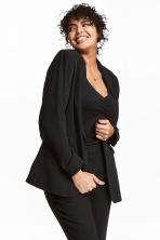 H&M+ Single-breasted jacket - Black - Ladies | H&M CN 1