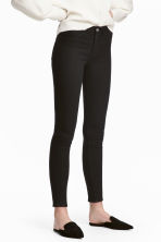 Skinny Regular Ankle Jeans - Black denim - Ladies | H&M CN 1