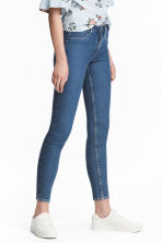 Skinny Regular Ankle Jeans - 牛仔蓝 - 女士 | H&M CN 1