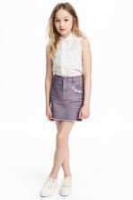 Twill skirt - Purple - Kids | H&M IE 1