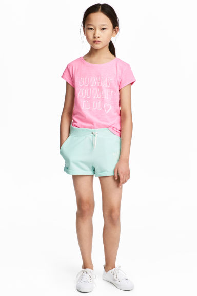 Shorts - Mint green - Kids | H&M CN 1