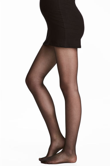 MAMA 2-pack tights - Black - Ladies | H&M