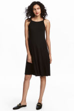 MAMA Jersey dress - Black - Ladies | H&M 1