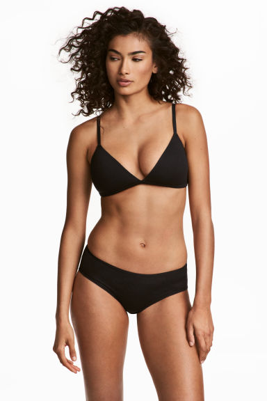 3-pack hipster briefs - Black - Ladies | H&M