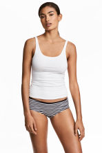 3-pack hipster briefs - White/Spotted -  | H&M CN 1