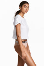 3-pack cotton hipster briefs - Powder - Ladies | H&M 1