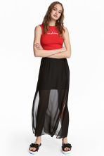 Long skirt - Black - Ladies | H&M CA 1