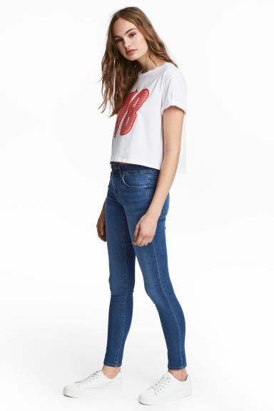 Super Skinny Regular Jeans - Denimblå - Ladies | H&M FI 1