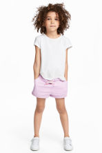 平紋短褲 - Light purple - Kids | H&M 1