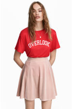 T-shirt in jersey con stampa - Rosso - DONNA | H&M IT 2