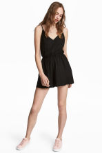 Playsuit - Black - Ladies | H&M CA 1