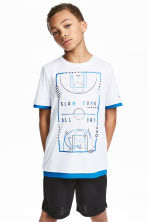 Sports top - White - Kids | H&M 1