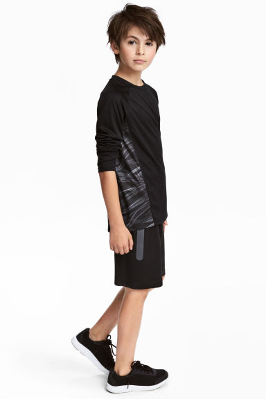 Sports shorts - Black - Kids | H&M CN 1
